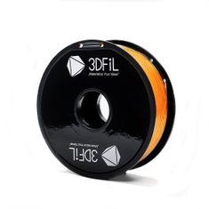 3DFiL PETG oranžová transparentní - 1,75 mm - 1kg