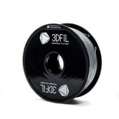 3DFiL ABS stříbrná - 1,75 mm - 1kg