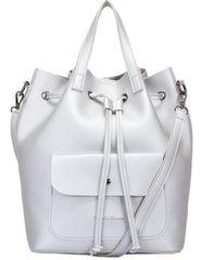 Claudia Canova stříbrný batoh