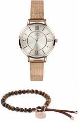 VictoriaWallsNY zestaw zegarek z bransoletką VWS007