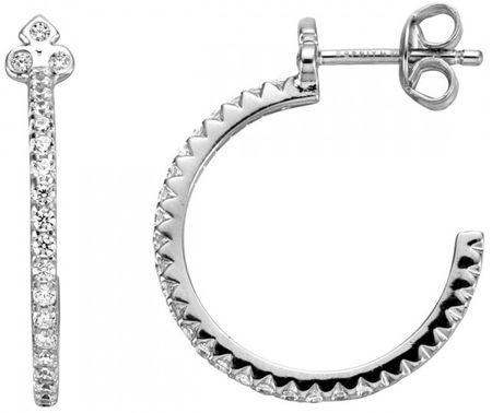 Esprit Srebrni uhani s kristali Play ESER00531300 srebro 925/1000