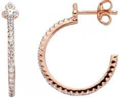 Esprit Ezüst kör fülbevaló kristályokkal ESER00531400 lejátszással ezüst 925/1000