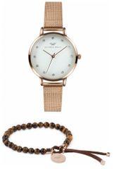 VictoriaWallsNY sada hodinek s náramkem VWS002