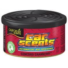 California Scents Premium osvježivač za auto Concord Cranberry