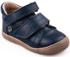 RAK chlapčenské kožené topánky Ryan 0207-1N