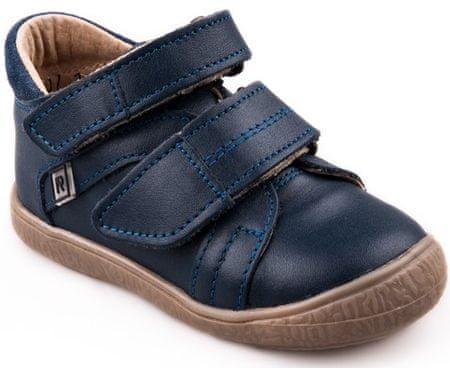 18f97d6e27ee RAK chlapecké kožené boty Ryan 22 tmavě modrá