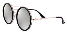 Clueless okulary przeciwsłoneczne damskie złote