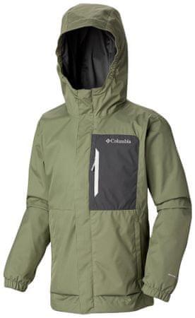COLUMBIA chlapecká bunda Splash Smore Jacket 116 zelená