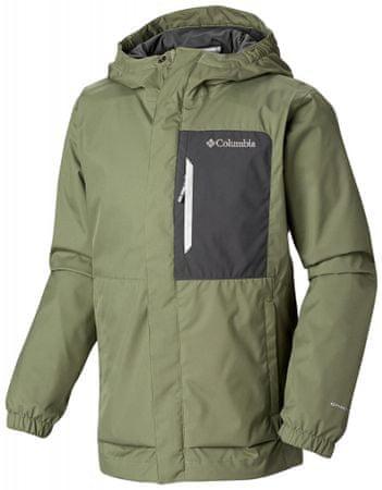 COLUMBIA fiú kabát Splash Smore Jacket 110 zöld