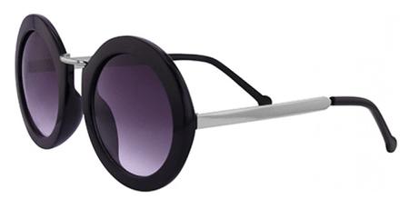 Clueless okulary przeciwsłoneczne damskie czarne