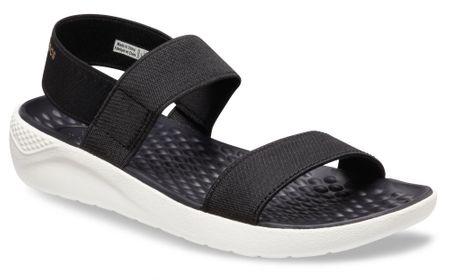 Crocs ženski sandali Women's LiteRide Sandals Black/White W9 (39,5)