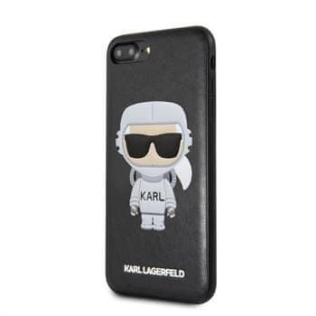 Karl Lagerfeld Space Cosmonaut Hard Case Black pro iPhone 7 / 8 Plus KLHCI8LKSCO