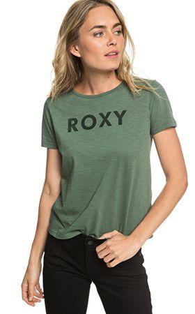 ROXY Red Sunset SS A kacsa Green póló ERJZT04512-GPL0 (méret XS)