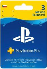 Sony PlayStation Plus 90 dní karta (CZE)