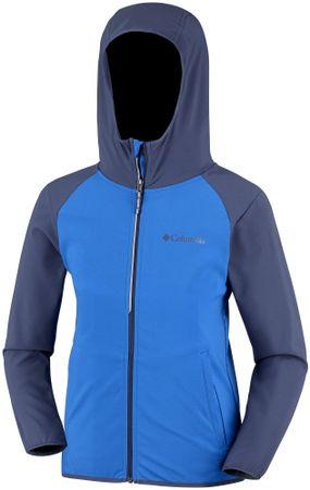 COLUMBIA Heather Canyon fiú softshell melegítőfelső 110 kék