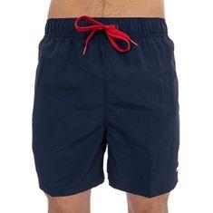 Tommy Hilfiger Plavkové kraťasy Slim Fit Medium Drawstring UM0UM01080 -416 Navy Blaze r