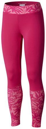 COLUMBIA Trulli Trails Printed Le lány legging 152 rózsaszín