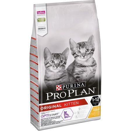 Purina Pro Plan Kitten Chicken & Rice macskaeledel - 3 kg