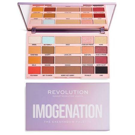 Makeup Revolution X Imogenacija (The Eye Shadow Palette) senčil za (The Eye Shadow Palette) 20,8 g (Odtenek Imogenation)