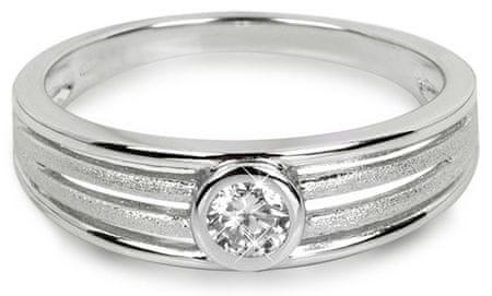 Silver Cat Srebrni prstan z cirkoni SC209 (Vezje 54 mm) srebro 925/1000