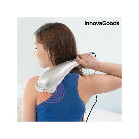 InnovaGoods masažni aparat z infrardečo led lučjo, 28W, sivo bel