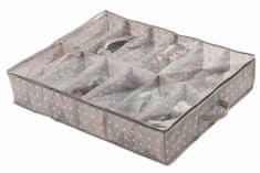 Compactor organizer na 12 par butów Rivoli, brązowy