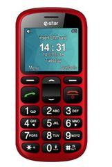 eStar mobilni telefon S22, rdeč