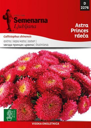 Semenarna Ljubljana astra Princes, rdeča, 2276, mala vrečka