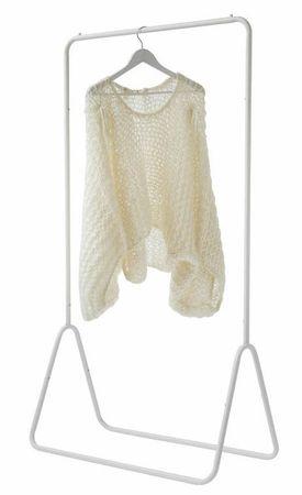 Compactor FYN metalni stalak za odjeću, bijeli