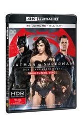 Batman vs. Superman: Úsvit spravedlnosti - prodloužená verze (2 disky) - Blu-ray + 4K Ultra HD