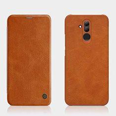 Nillkin preklopna torbica QIN za Huawei Mate 20 Lite rjava