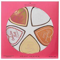 Makeup Revolution Idealny zestaw upominkowy Heart Heaven I Heart Heaven (I Heart Heaven) 5 x 10 g