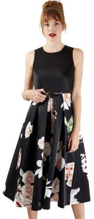 Closet London dámské šaty D3737 36 čierna