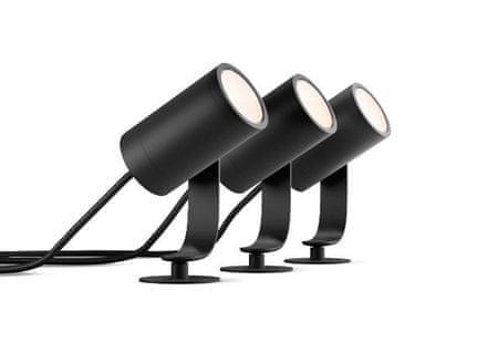 Philips Hue Lily 3 set zunanjih LED svetil 17414/30/P7