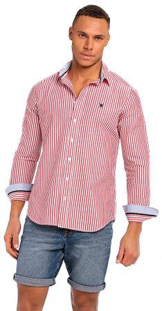 AUDEN CAVILL pánská košile M červená