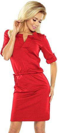 Numoco ženska obleka, XL, rdeča