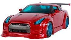 Maisto auto Nissan GT-R - czerwony