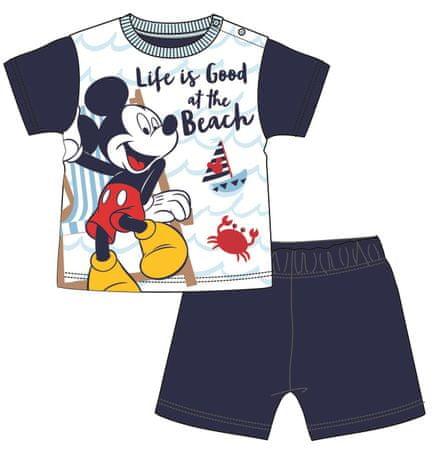 Disney by Arnetta chlapecké pyžamo Mickey Mouse 92 tmavě modrá