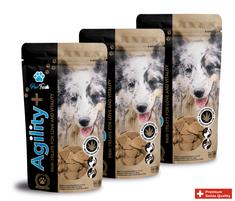 Paw-Treats Agility+ Triple Pack - vitamín pro psy v podobě pamlsku s CBD olejem