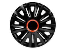 Versaco Poklice ROYAL 14 black/red ring