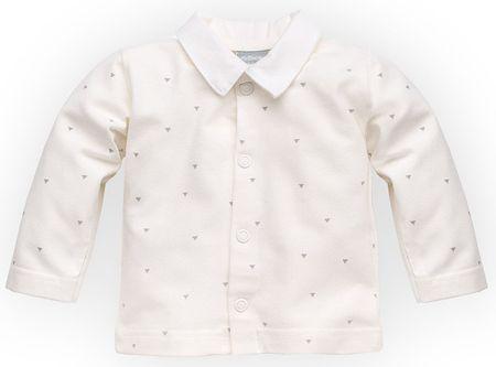Pinokio fiú kabát Prince 56 fehér