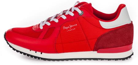 Pepe Jeans tenisówki męskie Tinker Hr 41 czerwone