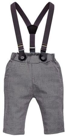 PINOKIO fantovske hlače Prince, 86, sive