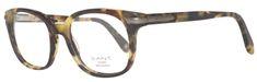 Gant oprawki do okularów męskich, brązowe