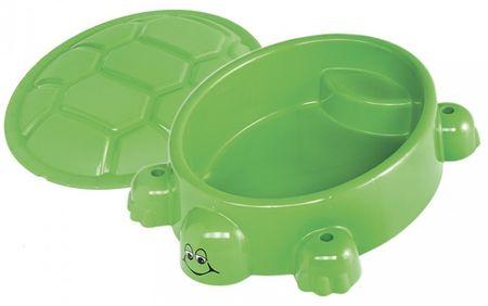 Paradiso Homokozó medence teknősbéka fedővel
