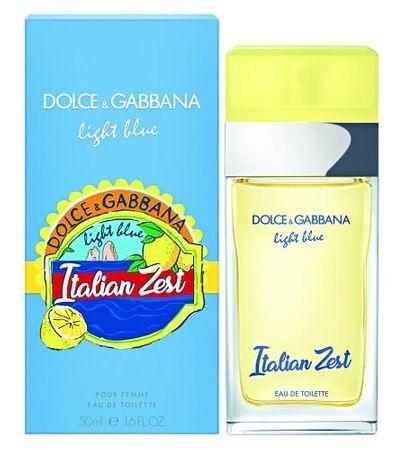 Dolce & Gabbana toaletna voda Light Blue Italian Zest, 100ml