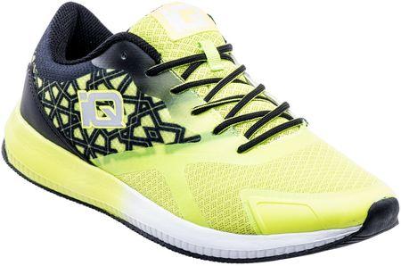 IQ muške sportske cipele Icharo, Black/Lime, crno žute, 41