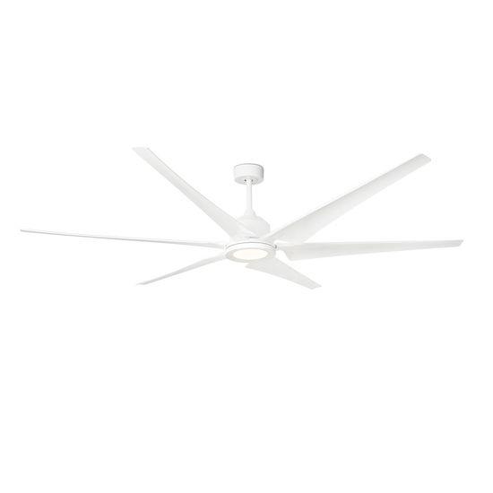 """FARO Barcelona CIES 33512 83"""" bílá/bílá Reverzní stropní ventilátor"""