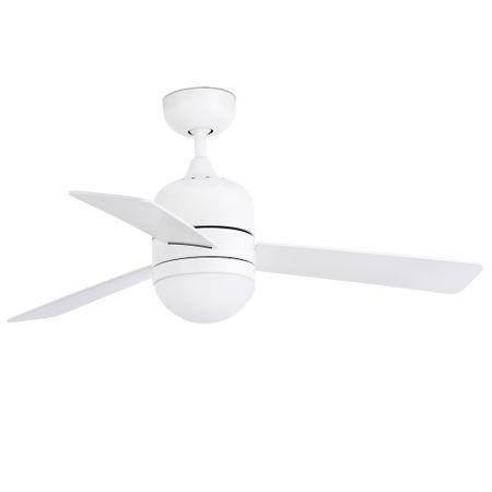 """FARO Barcelona CEBU 33606 40,2"""" fehér/fehér/juhar Reverzibilis mennyezeti ventillátor"""