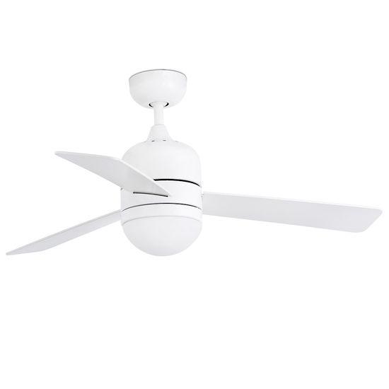 """FARO Barcelona CEBU 33606 40,2"""" bílá/bílá/javor Reverzní stropní ventilátor"""